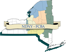 Map Of New York Judicial Districts.Northern District Of New York Federal Court Bar Association A